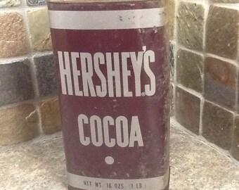 Vintage Hershey's Cocoa tin  16 oz