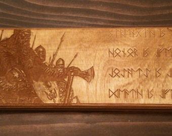 "KBOX ""Satyr"" - Artisan Dice Box and Whiteboard"