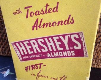 50's Hersheys milk chocolate candy box