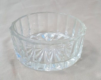 Vintage Small Glass Round Bowl