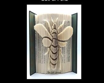 Book Folding PATTERN~Cut & Fold ~  Bee