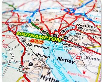 Southampton Map Coasters