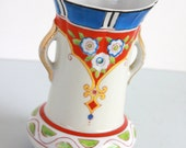 Vibrant Vintage Vase by Gold Castle Made in Japan Simply Gorgeous