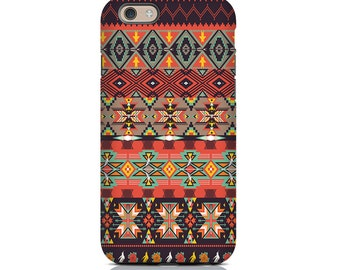 iPhone SE Case, iPhone SE Cases, iPhone SE Cover - Novajo Aztec iPhone Case