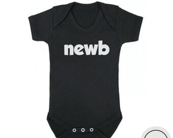 Newborn baby bodysuit, funny newborn bodysuit, funny baby shower gift, funny gift for newborn baby, baby boy onesie, baby girl bodysuit