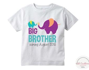 Pregnancy announcement toddler shirt, big brother shirt, big brother to be shirt, pregnancy reveal shirt for boy, big brother t shirt