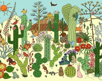 Art Print - Arizona Desert