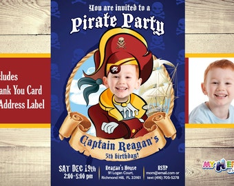 Pirate Birthday Invitation. Pirate Invitation with your son as the Pirate! Pirate Party Ideas. Pirate Birthday Party. Greatest Pirate.