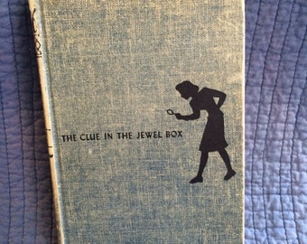 Nancy Drew The Clue in the Jewel Box/First Edition Nancy Drew