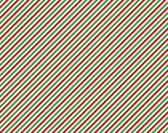 1 Yard Pixie Noel by Tasha Noel for Riley Blake Designs- 5256- Green