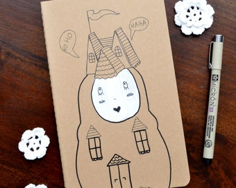 Doll House - Hand Drawn Journal