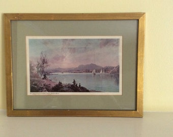 Hudson Valley framed print