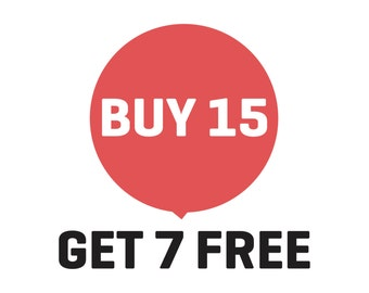 Sale, Buy 15 Get 7 Free, PrintsDigital