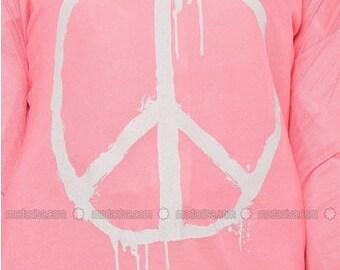 Printed Peace Shirt
