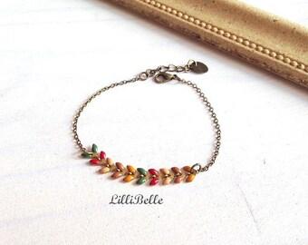 Bracelet Ayanna - Fall colors