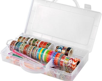 Big capacity washi tape storage Case,  Washi tape holder