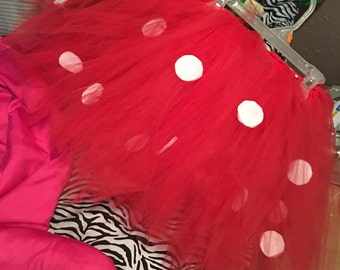 Mini mouse tutu and ears 6T to adult 2x