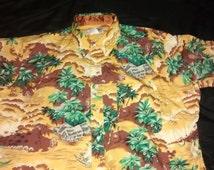Vintage Wrangler Shirt Short Sleeve Button- up XL
