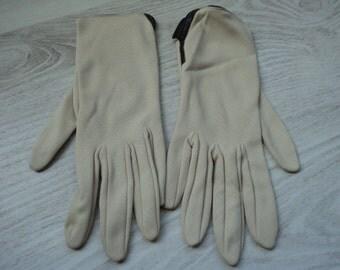 French vintage ladies  gloves (00222)