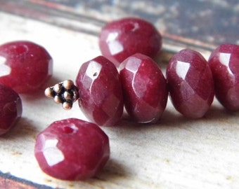 Cranberry Marque Beads, Jewerly Supplies