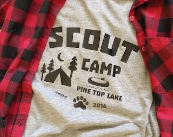 Scout Camp shirt - **Free Shipping