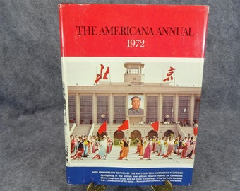 Vintage The Americana Annual 1972