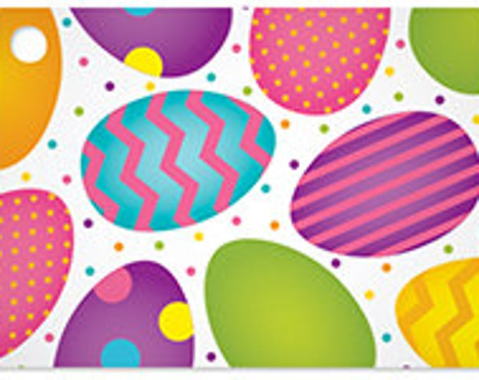 Easter Eggs Blank Note Card, Easter Note Card for Gifts, Cute Easter Card, Colorful Easter Egg Blank Note Card, Sunny Bunny Gardens