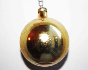 Cute 2 Balls Christmas tree Glass, Ball Ornament tree toy, vintage, Antique