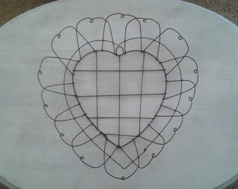 Wire Heart Wall Hanging