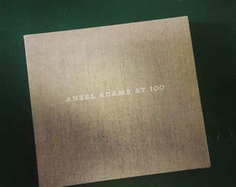 Ansel Adams at 100 Book with Frameable Print