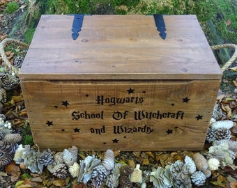 Hogwarts Spells & Potions Chest Memory Trunk Harry Potter