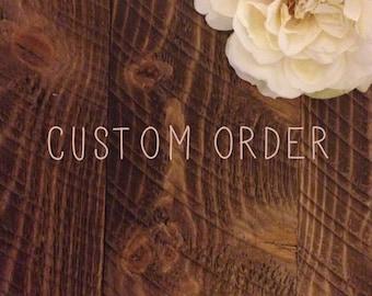 Create your own custom handmade invitation.