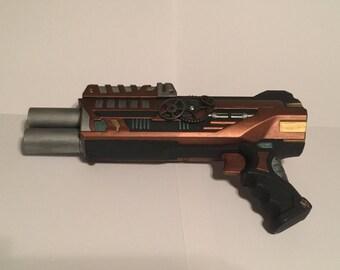 Steampunk Python Pistol