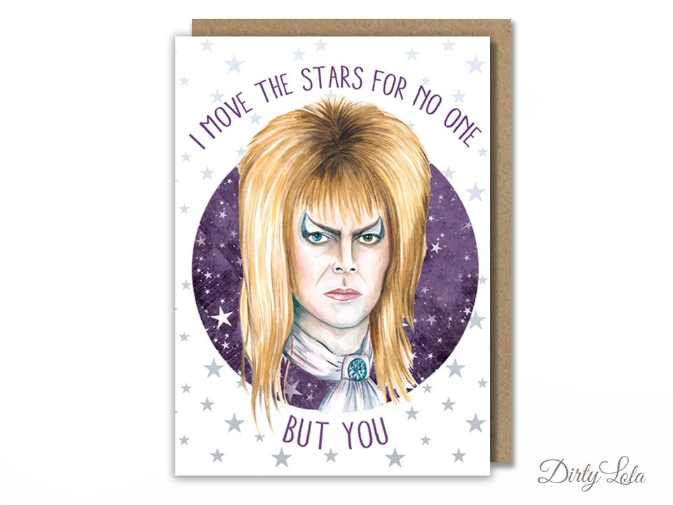 Valentines day card labyrinth david bowie card zoom bookmarktalkfo Image collections