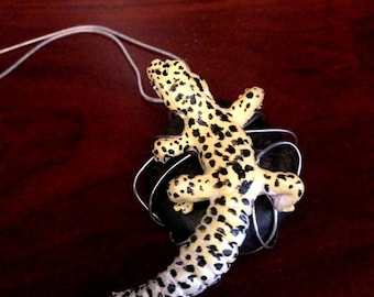 Leopard Gecko Necklace