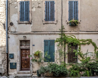 Beautiful house in Lourmarin, Provence, France Photography, Rural France, Provence Photography, Summer in Provence, Fine Art Print