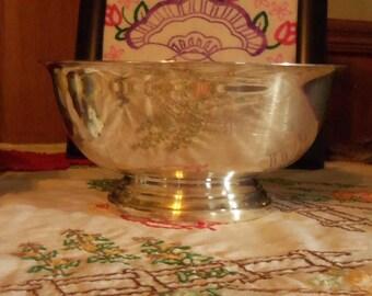 Gorham Silver Serving Bowl Vintage Silver Serving Bowl