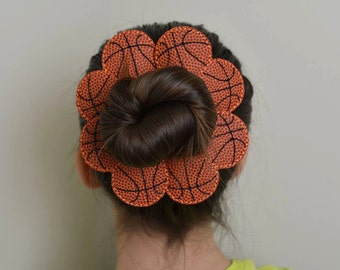Basketball Bun Pal Hair Accessory - Hair Pin - Bobby Pin - Hair Decoration - Sports - Clip - Hair Clip - Seasonal - Barrette