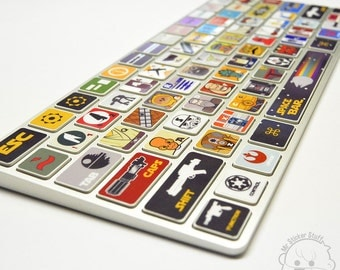 Star Wars Inspired Macbook Keyboard Skin / sticker