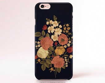 iPhone 6s Case Floral iPhone 6s Plus Case Vintage iPhone 6s Case Retro iPhone Cases iPhone 5s Case