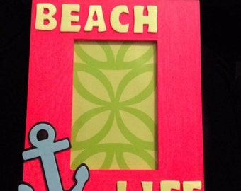 Beach Life Picture Frame
