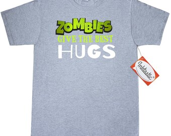 Zombie Hugs T-Shirt by Inktastic