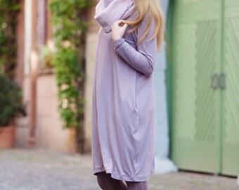 Jersey Tulip dress Gr.M lilac-grey