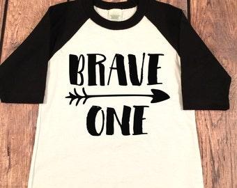1st Birthday Shirt, Brave One Birthday Boy Shirt, 1st Birthday Top, Brave 1st Birthday Shirt, First Birthday Boy Shirt,First Birthday Outfit