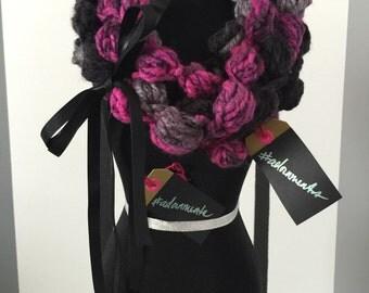 Puffed Crochet Cowl #adornments