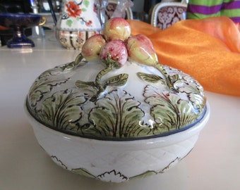 ITALY BOWL with LID