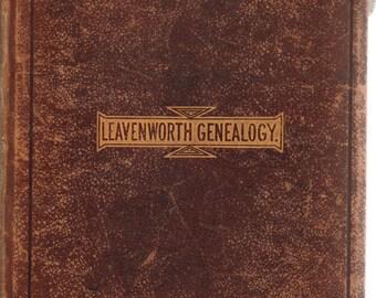 Genealogy of Leavenworth Family in U.S.