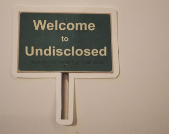 """John Dies at the End - Welcome to [Undisclosed] """"Dreams interpreted for beer"""" Sticker"""