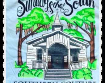 Southern Couture, Like Simply Southern, Sundays in the South, Fall 2016, Comfort Colors,  Chambray Color, Long Sleeve, Short Sleeve
