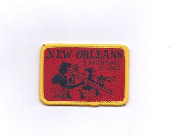 New Orleans Birthplace of Jazz Patch